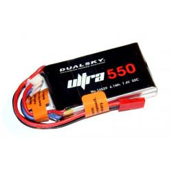 Dualsky 2S 7.4V 550mAh ULT...