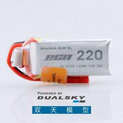 Dualsky 2S 7.4V 220mAh ECO...