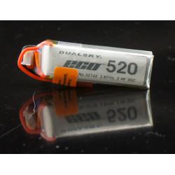 Dualsky 2S 7.4V 520mAh ECO...