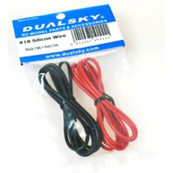 Silikonkabel 18AWG (0,82mm2)
