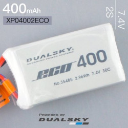 Dualsky 2S 7.4V 400mAh ECO...