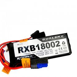 Dualsky 2S 1800mAh RXB 20/2C