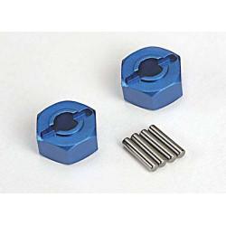 Fälgnav Aluminium Blå 12mm (2)
