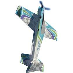 "JTA Innovations MXS (GREEN /BLUE ) 33"" EPP 3D aerobatics Model"