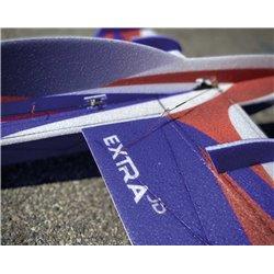 "JTA Innovations Extra JD BLUE /RED /white 32"" EPP 3D Aerobatic Model"