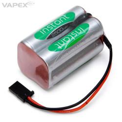 Mottagarbatteri 4.8V...