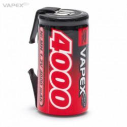 NiMH Batteri 1,2V 4000mAh...